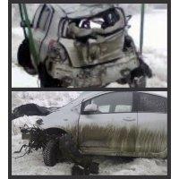 Продам а/м Toyota Vitz битый